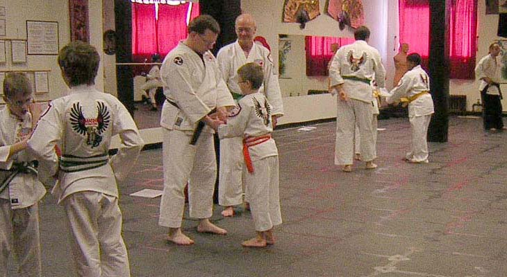 Budo Martial Arts Kids Karate-do Class